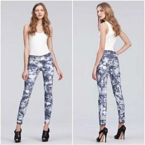 J Brand 810 skinny jeans Twisted Plum tie dye 26